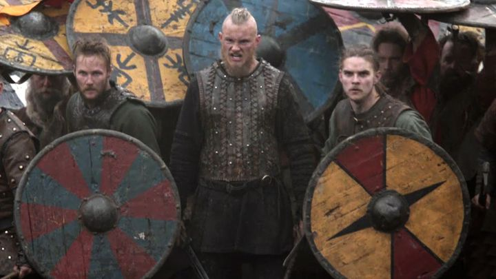 Vikings transports us to the brutal and mysterious world of Ragnar Lothbrok, a Viking warrior and farmer who yearns to explore--and raid--the distant shores across the ocean.