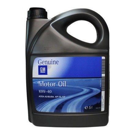 Aceite semi-sintético GM 10W40 es un aceite de motor multigrado de alta tecnología y última generación, diseñado especialmente para la lubricación de motores diésel y gasolina de 4 tiempos multiválvulas en coches de pasajeros, con o sin turbo.