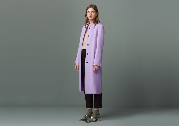 Mortimer Lavender Coat