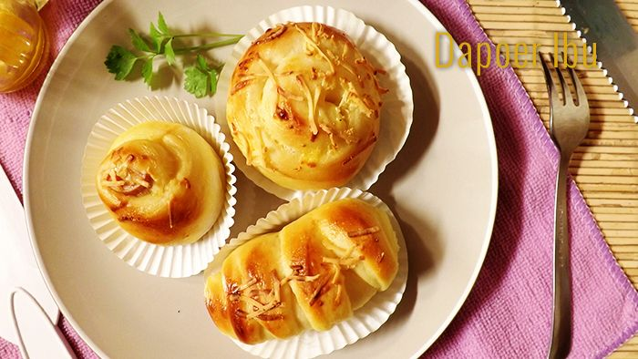 Roti isi/topping keju
