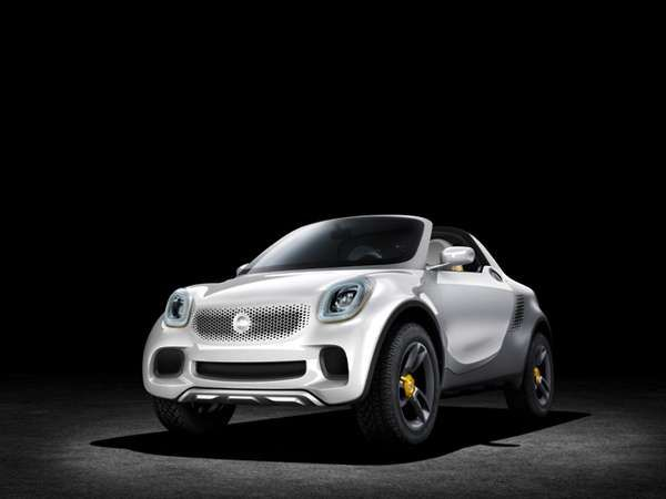 The Smart For-Us EV Debuts at the 2013 Detroit Auto Show #eco