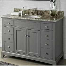 Picture Gallery For Website Fairmont Designs Smithfield Medium Gray Bathroom Vanity x x
