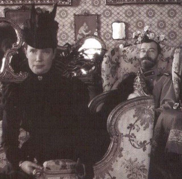 "Svyatayasemya: "" Dowager Empress Marie, And Her Son Tsar"
