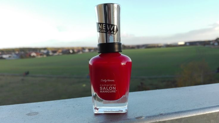 SALLY HANSEN - RIGHT SAID RED