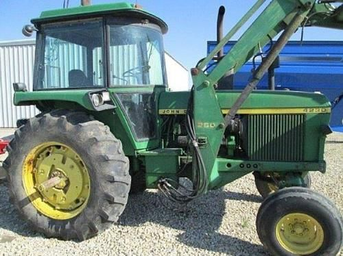 John Deere 4230 Tractor w/Loader for sale by owner on Heavy Equipment Registry. http://www.heavyequipmentregistry.com/heavy-equipment/14131.htm