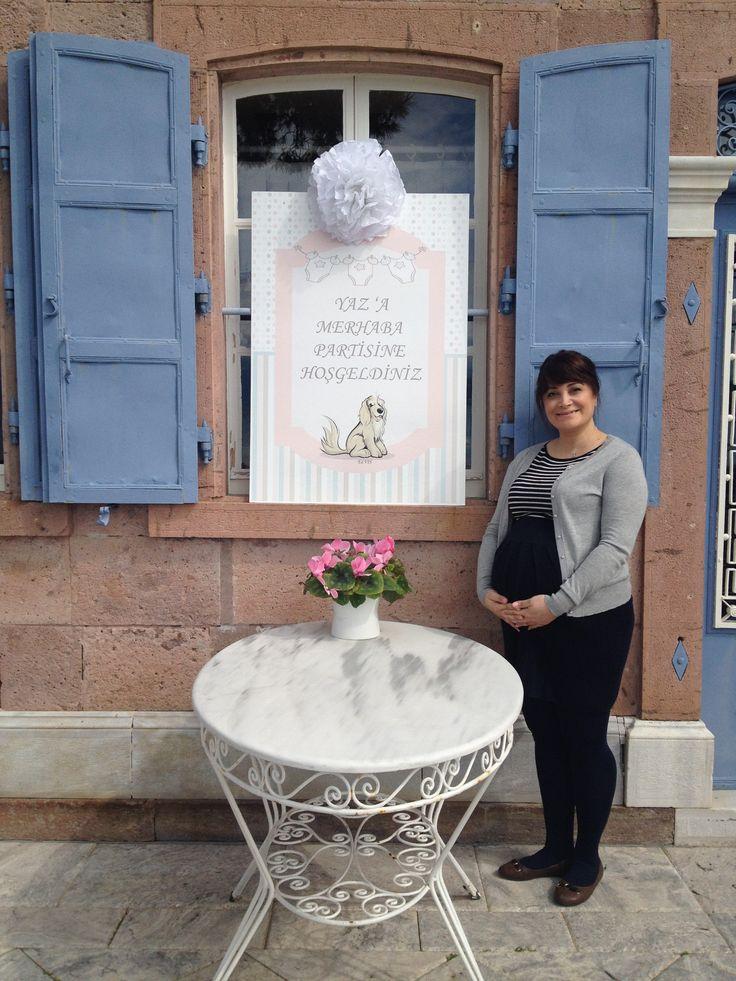 Waiting for Baby Yaz.. March, 2014  #babygirl #babyshower #lola38events #lola38hotel #foca #turkey