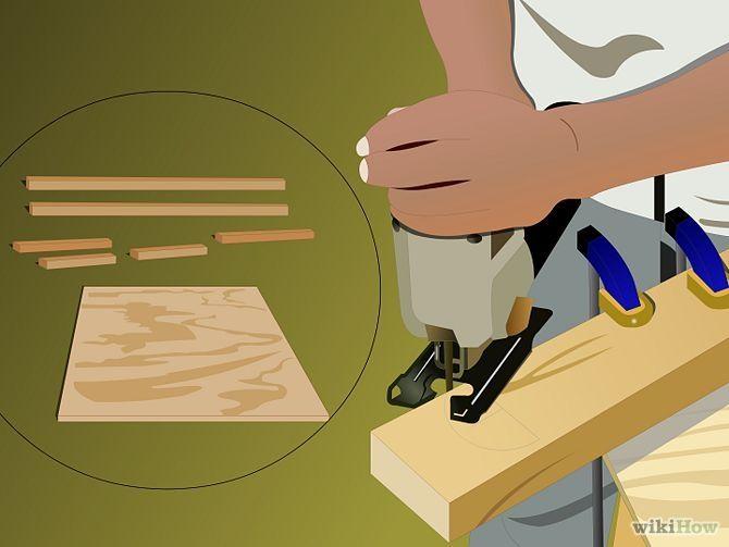 Build a Cornhole Game Step 1