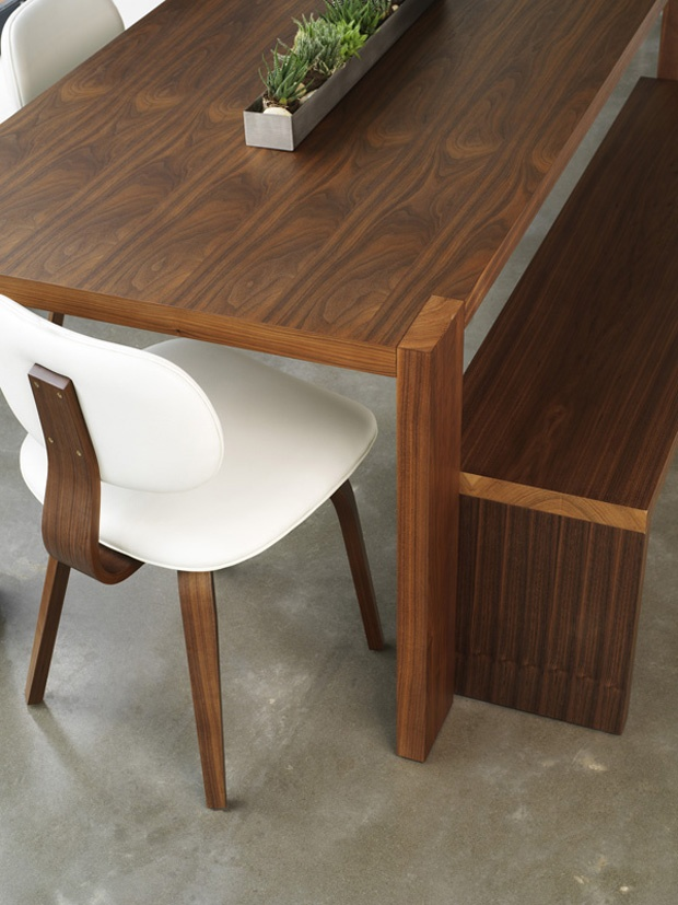 Gus*Modern Plank dining table