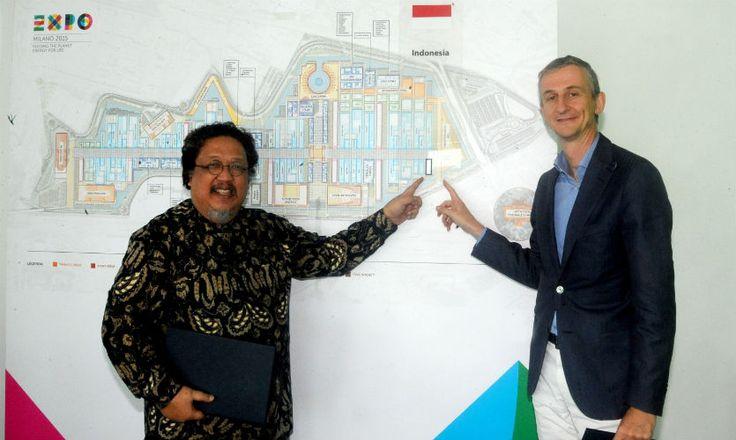 http://www.expo2015.org/it/l-indonesia-firma-il-contratto-di-partecipazione-a-expo-milano-2015  Indonesia's participation at Expo 2015 has been confirmed
