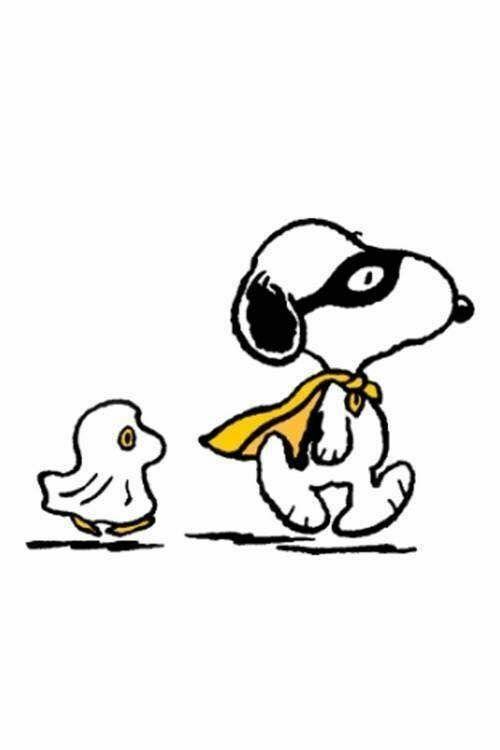 Snoopy & Woodstock Halloween