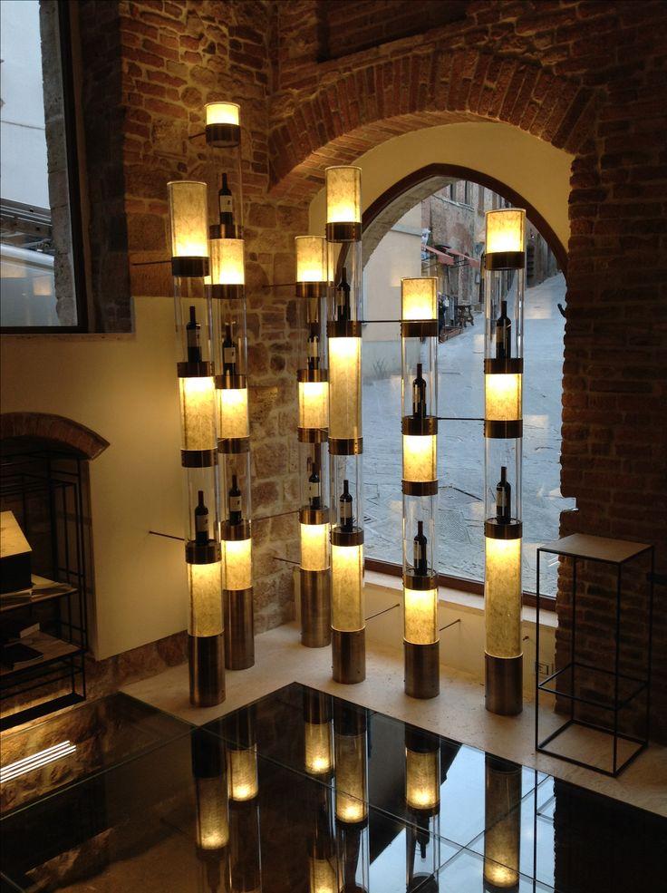 Wine installation arch.Barugi