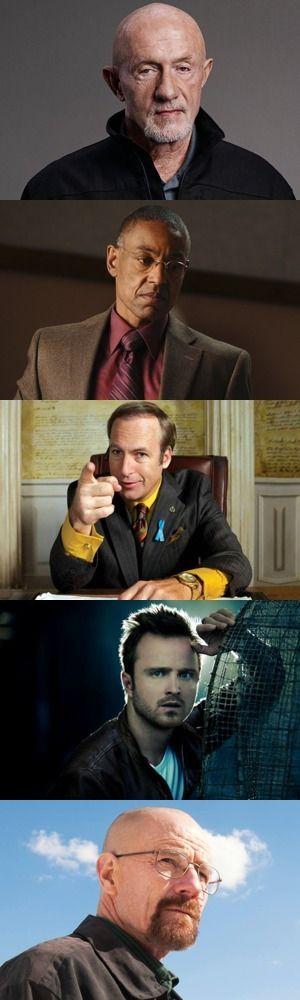Cinque memorabili personaggi di Breaking Bad