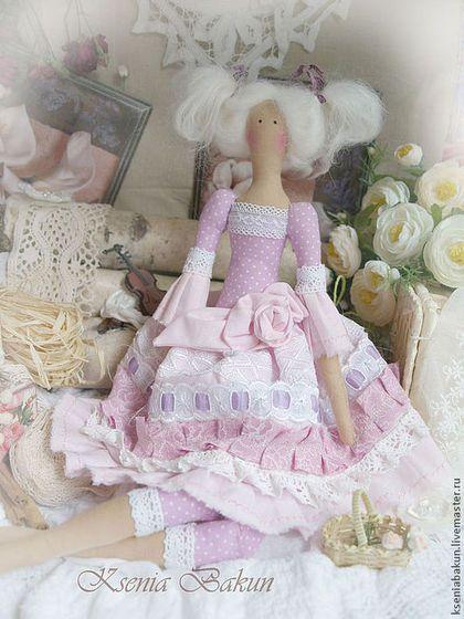 Куклы Тильды ручной работы. Ярмарка Мастеров - ручная работа Антуанетта кукла тильда. Handmade.