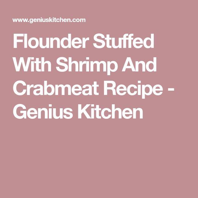 Flounder Stuffed With Shrimp And Crabmeat Recipe - Genius Kitchen