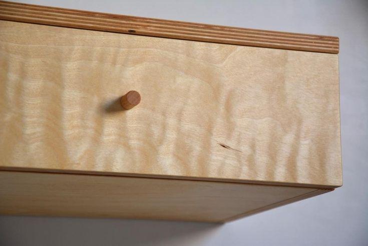 """12 kedvelés, 1 hozzászólás – MyBetterShelf (@mybettershelf) Instagram-hozzászólása: """"We do not get such request frequently to make floating drawer entirely of plywood, but the project…"""""""