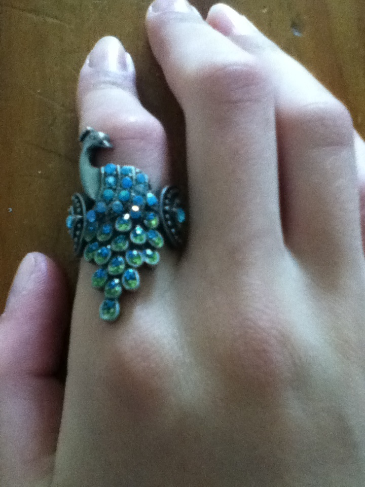 Birds Of A Feather Engagement Ring