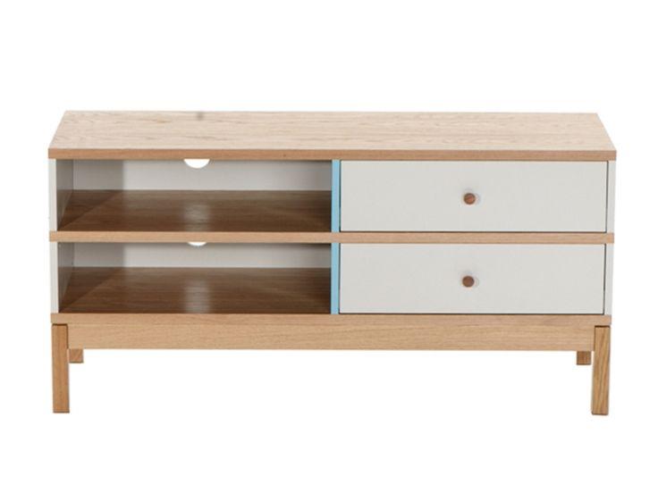 Oltre 1000 idee su meuble tv chene massif su pinterest for Meuble chene massif belgique