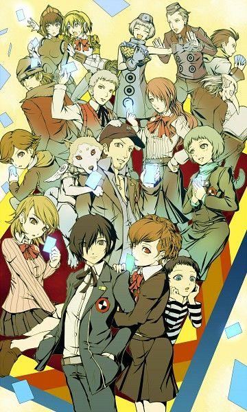 Tags: Shin Megami Tensei: PERSONA 3, Aegis, Iori Junpei, Takeba Yukari