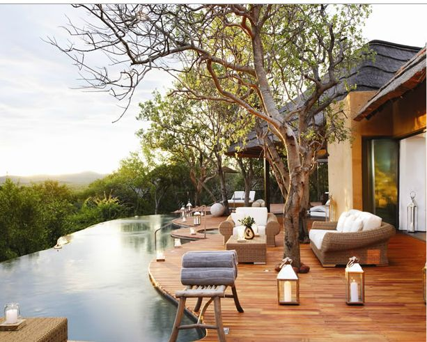 love this view! - South Africa | beautiful idea for a house to let out to the families wanting to holiday there for 1+ weeks