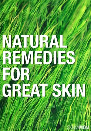 Great ways to cure skin problems naturally.