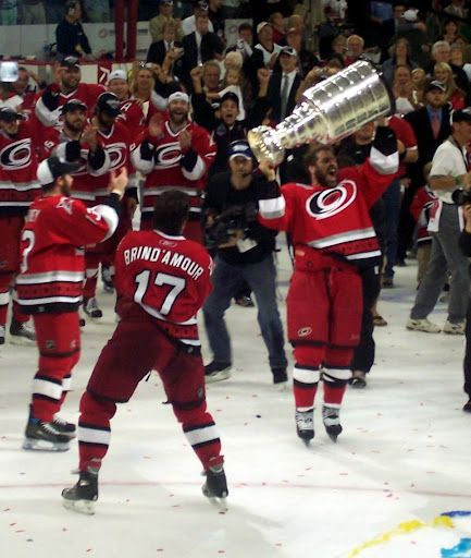 Carolina Hurricanes Stanley Cup Finals game 7. 2006 Stanley Cup, I will never forget this game!!