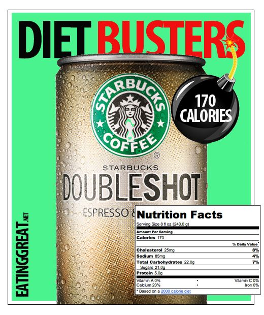 How Many Calories Are In A Starbucks DoubleShot Coffee