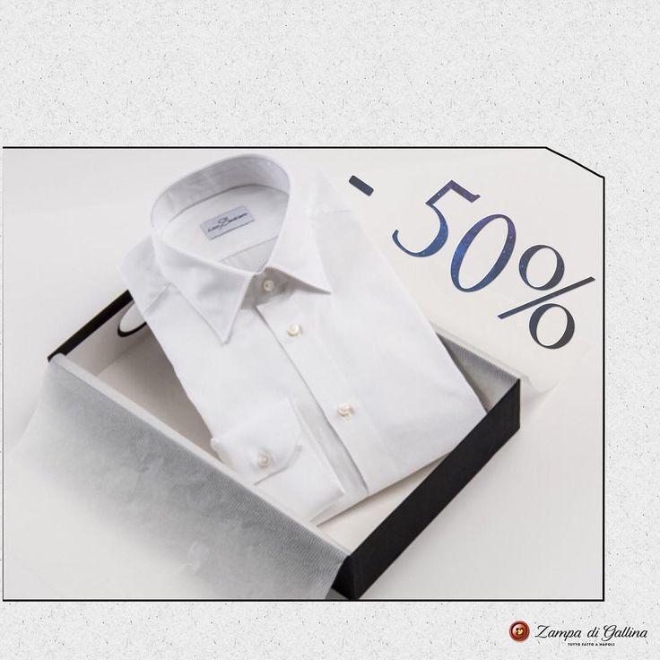 White antica camiceria sentiero cotton shirt.   http://www.zampadigallina.com/white-antica-camiceria-sentiero-cotton-shirt.htm