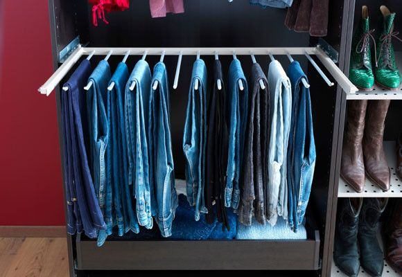 33 best armario organizado images on pinterest dressing - Ideas para organizar armarios ...
