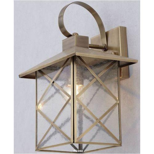 Citilux Canoelands Brass Wall Light 349
