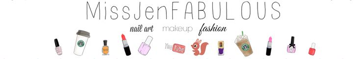Nail art tutorials MissJenFABULOUS - YouTube