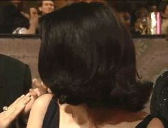 Ever so humble---Winona Ryder seems so shy when they called her name for her nomination for Best Supoorting Actress in MERMAIDS(GoLden Globes 1990)