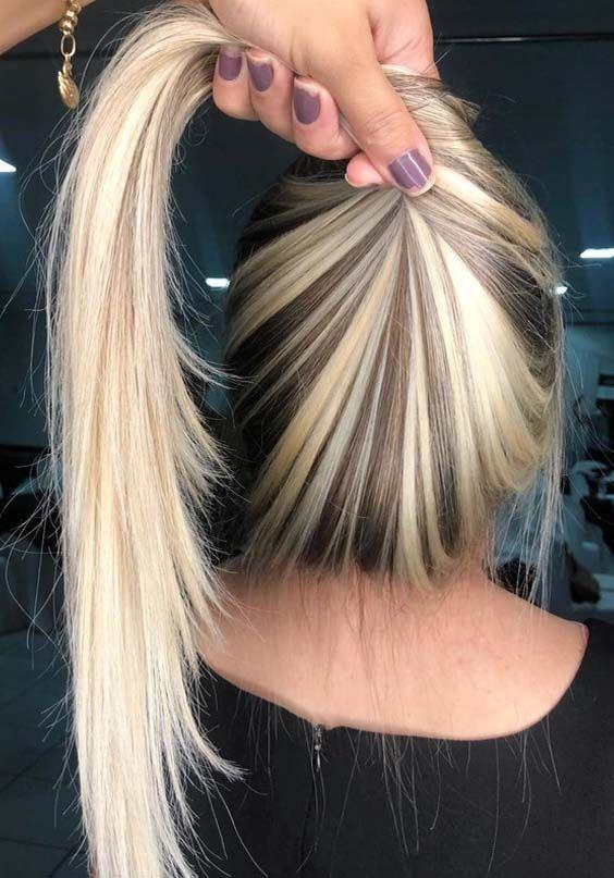 46 Seamless Blends Of Blonde Hair Colors For 2018 Hair Pinterest