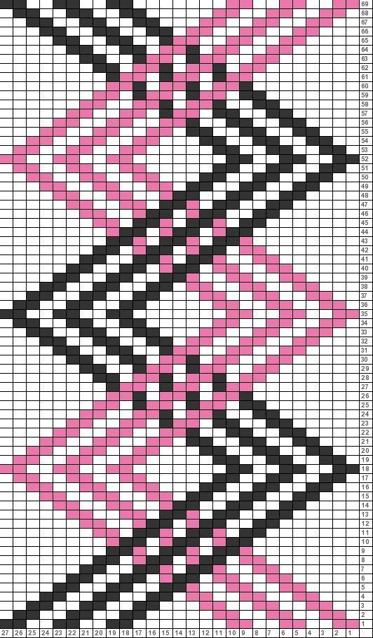 Tricksy Knitter Charts: Criss Cross (70508) (70904) http://www.pinterest.com/source/tricksyknitter.com/