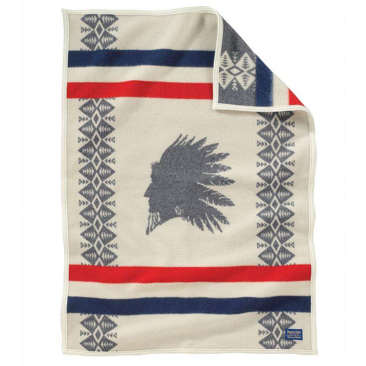 Pendleton Blankets Heroic Chief Wool Blanket Twin