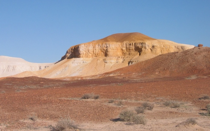 "Coober Pedy area, ""Painted Desert""."