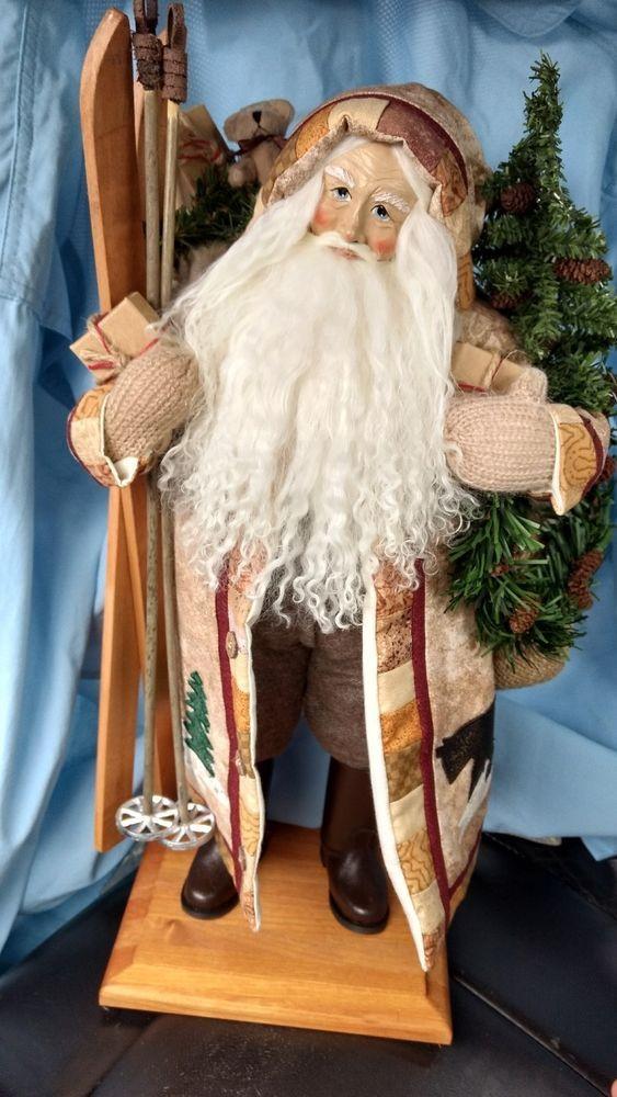 528 Best Lynn Haney Santas Images On Pinterest Papa Noel