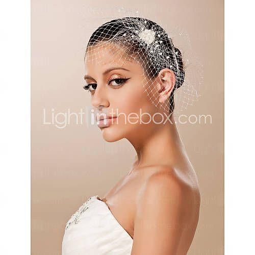 Western Style Wedding Bridal Headpiece