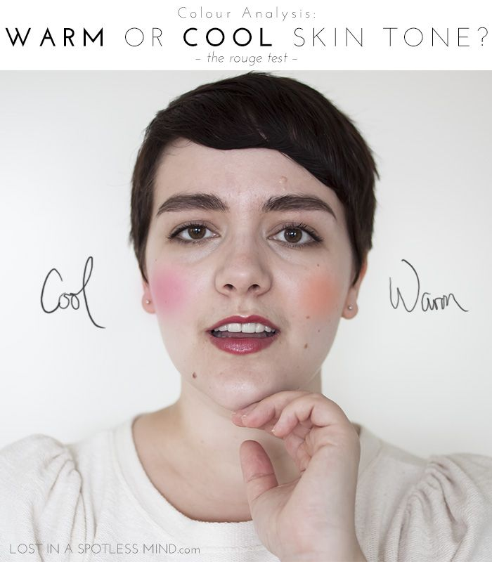 In addition to this method for determining skin tone: https://simplebeautyminerals.com/makeup-and-cosmetics/mineral-makeup-foundation-matching-to-skin/  This is a fantastic compliment:  Colour analysis: warm or cool skin tone? | from lostinaspotlessmind.com