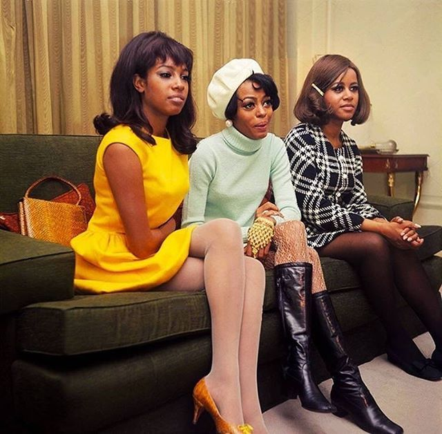 The Supremes, January 1968. #60s #1960s #thesupremes #dianaross #1968