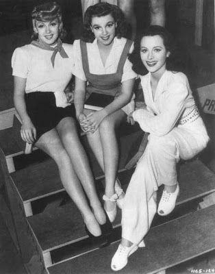 1941 - Lana Turner, Judy Garland & Hedy Lamarr