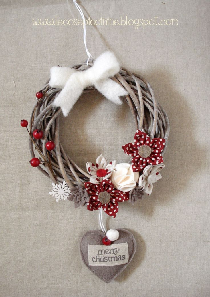 Le cose piccinine - Winter/Christmas wreath