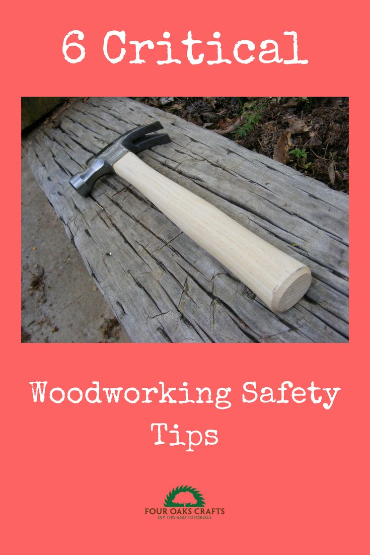 DIY Woodworking Ideas Learn about 6 critical woodworking safety tips. No one wants to get hurt doing t...