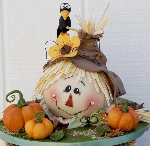 Scarecrow Cake Pan