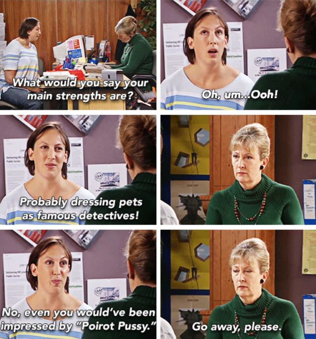 And stand by them. | 18 Times Miranda Hart Spoke The Absolute Truth