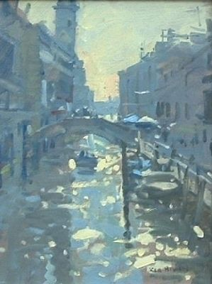 ken howard - morning light, venice