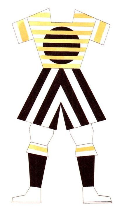 Varvara Stepanova, design for sports clothing, 1923