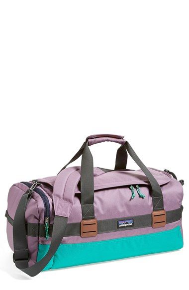 Free shipping and returns on Patagonia 'Arbor' 30L Duffel Bag at Nordstrom.com. Designed to keep pace with your day-to-day, the durable, abrasion-resistant Arbor Duffel handily stows all your gear in its spacious main compartment, with easy access thanks to its wide, dual-zip opening. Interior drop pockets and an exterior zip compartment stash essentials, while a padded base keeps them protected. Convenient carrying options include double handles, an ergonomic shoulder strap and twin haul…