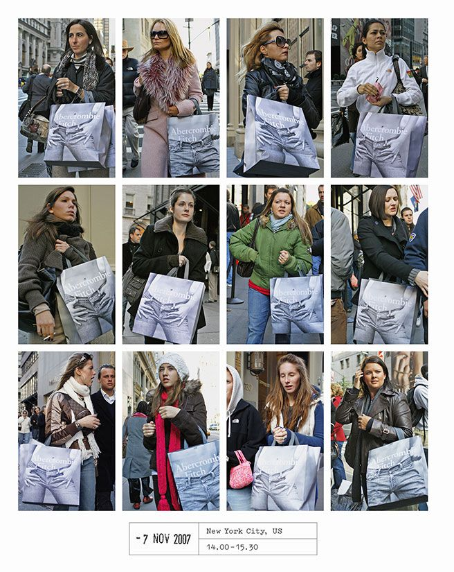 Dutch photographer Hans Eijkelboom street style - Elle