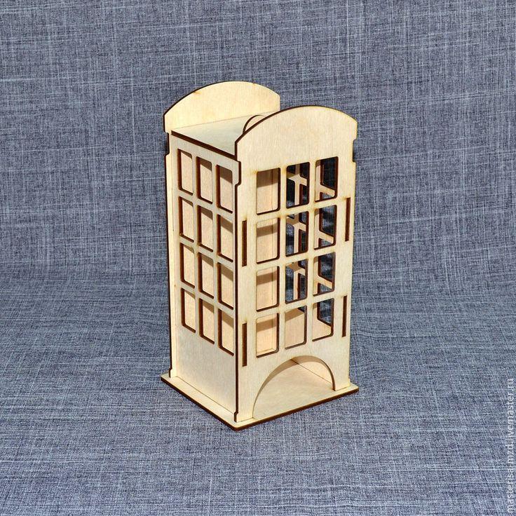 """Купить ЧД-04-004. Чайный домик """"Телефонная будка"""" - бежевый, чайный домик"""