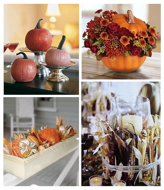 Fall Centerpieces by finestationery, via Flickr